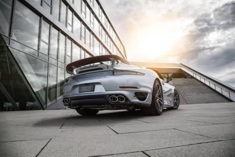 TechArt представила допрацьований кабріолет Porsche 911 Turbo S (10 фото) (6)