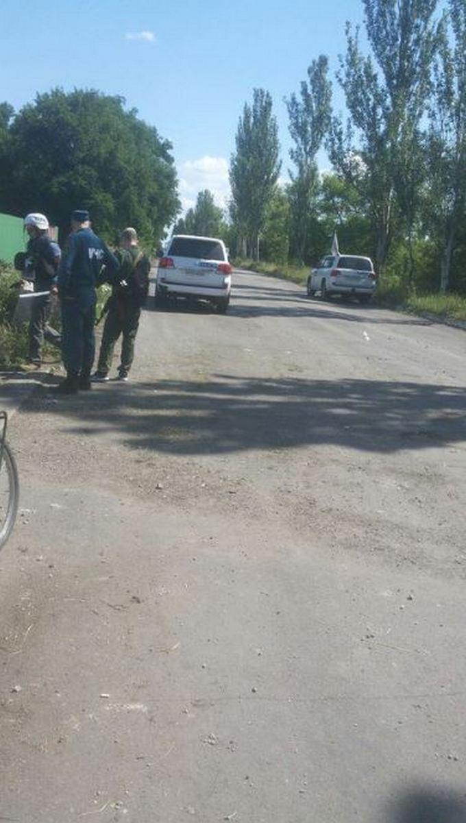 Бойовики ДНР обстріляли окуповану ними Горлівку: з'явилися фотодокази (1)
