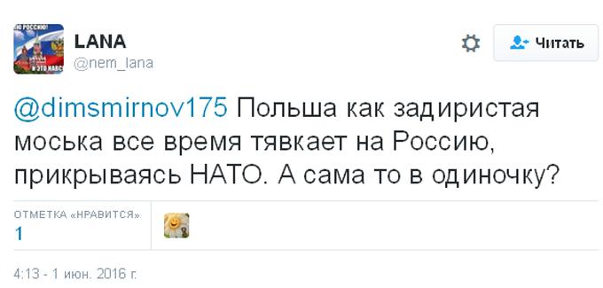 Після заяви міністра оборони Польщі соцмережі в Росії закипіли (2)