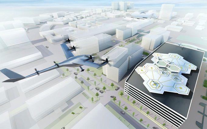 Uber планирует к 2020 году испытать летающее такси