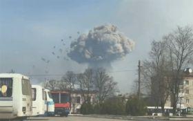 Взрывы в Балаклее: появились новые впечатляющие видео