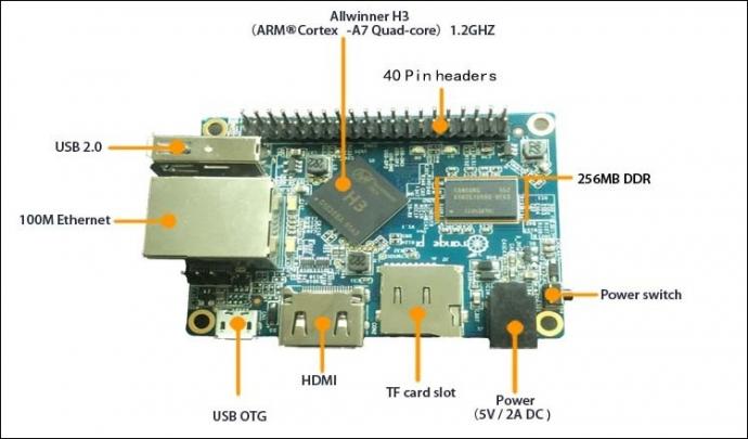 Orange Pi One: одноплатный компьютер за $10