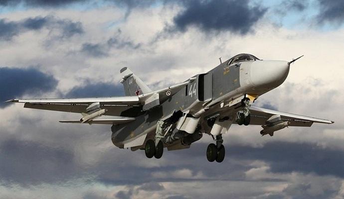 Біля адмінкордону з Кримом прикордонники помітили російський літак