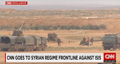 Журналисты случайно засняли российские войска во время наземной операции в Сирии (5)