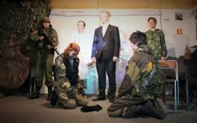 В России поставили безумный спектакль о мальчике-боевике ДНР: опубликованы фото
