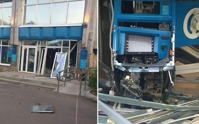 У Росії грабіжник креативно підірвав банк: опубліковані фото і відео