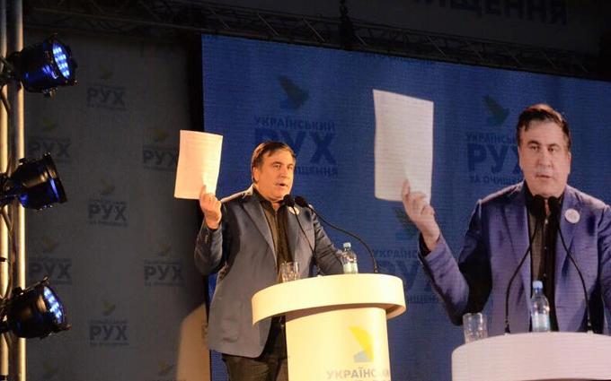 Саакашвили предупредил Украину об угрозе гибрида Путина и Азарова