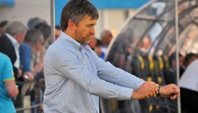 Мостовой признан лучшим тренером 1-го тура в Первой лиге