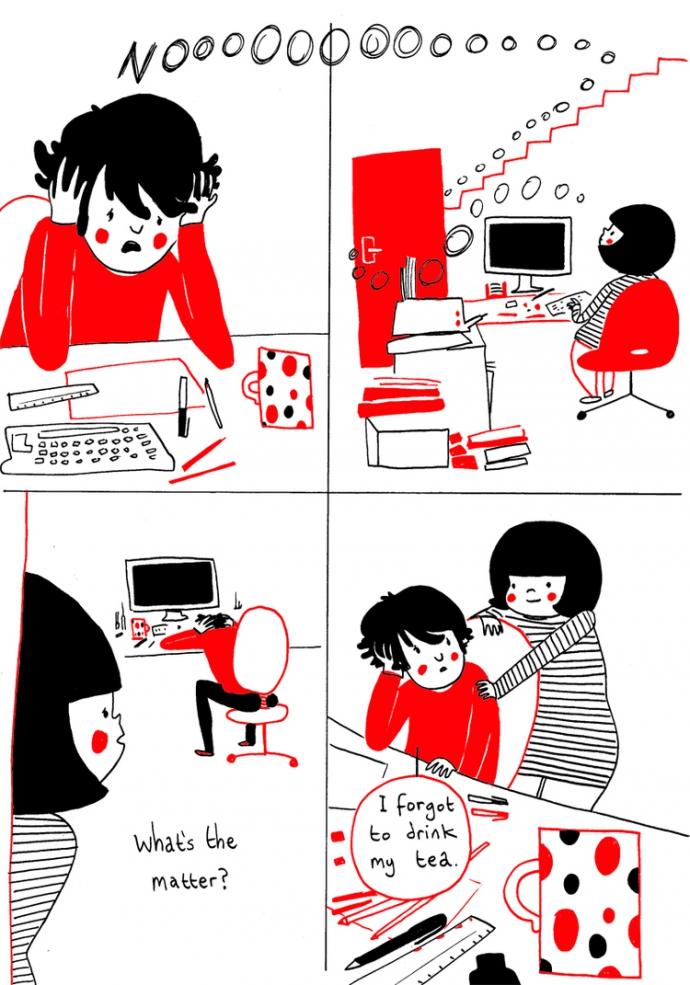 Как прекрасно быть вместе: веселые комиксы о семейной жизни (9)