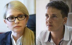 Пусть сначала сделает: соцсети обсуждают громкое заявление Тимошенко о Савченко