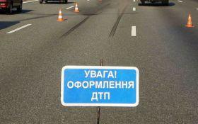 Новое ДТП в Киеве: появилось видео момента аварии