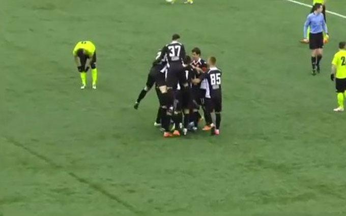 Футболист забил фантастический гол в чемпионате Украины: опубликовано видео
