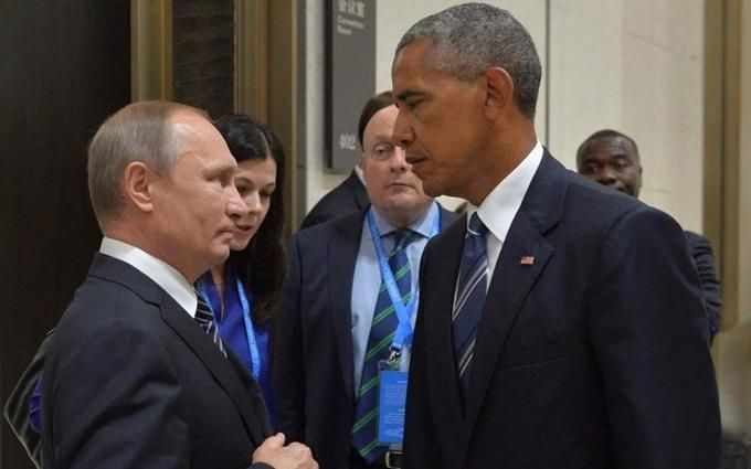 Фото Обами з крижаним поглядом і Путіна стало хітом мережі
