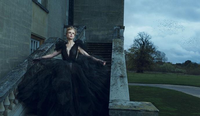 Фотосессия Николь Кидман для мартовского Harper's Bazaar