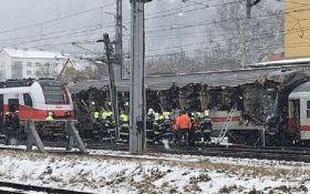 В Австрии столкнулись поезда, есть жертвы