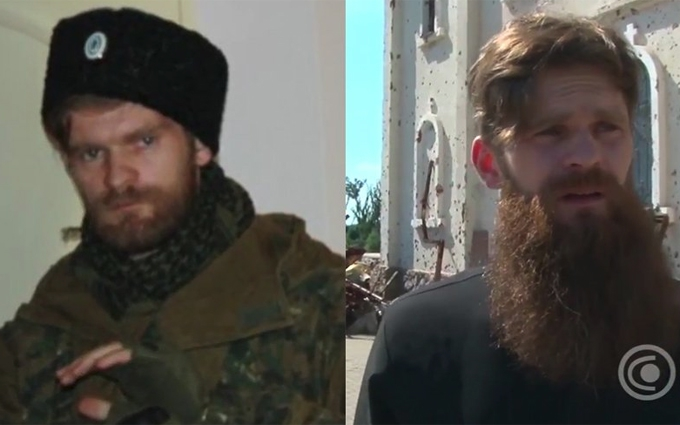 Монах з Москви приїхав на Донбас вбивати українців: з'явилося відео