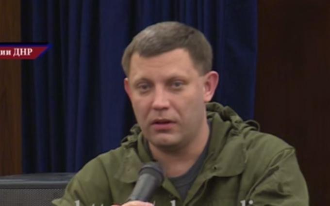 Главарь ДНР заявил, что ведет две войны: опубликовано видео