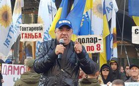 Политолог объяснил причины большей популярности акции Рабиновича под Нацбанком, чем митинга под Радой