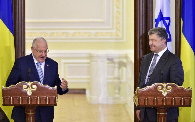 Порошенко плідно поговорив з президентом Ізраїлю: з'явилися подробиці