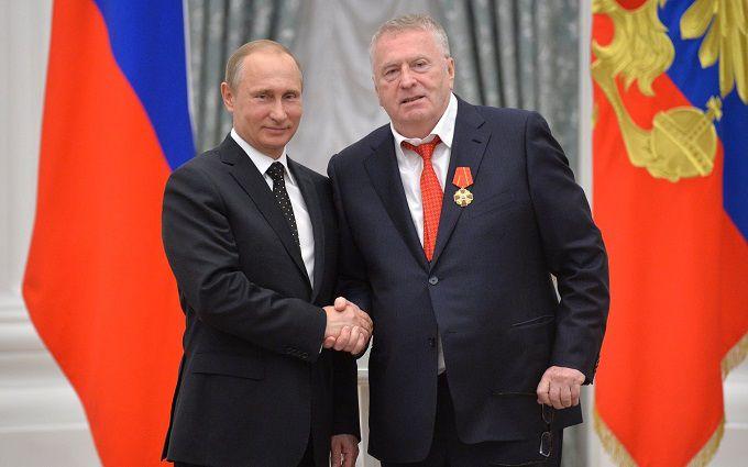 Жириновський отримав орден від Путіна і назвав його царем: опубліковано відео