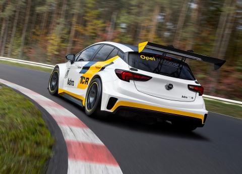 Opel анонсувала гоночний хетчбек Astra (9 фото) (2)