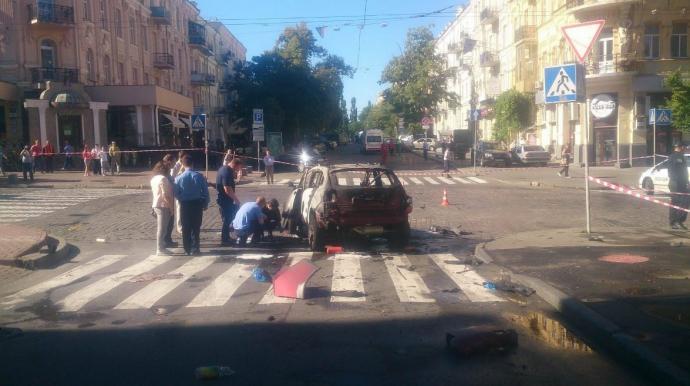 Загибель журналіста Шеремета: з'явилися перші подробиці вибуху і нові фото (1)