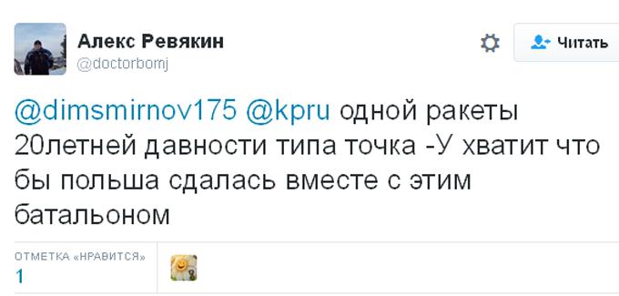 Після заяви міністра оборони Польщі соцмережі в Росії закипіли (5)