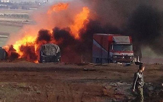 Атака на гуманітарний конвой в Сирії: з'явилися фото з доказами проти Росії
