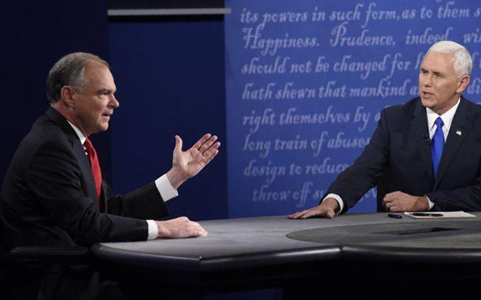 Трамповський виглядав упевненіше: соцмережі розбурхали віце-президентські дебати в США