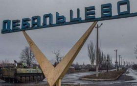 Бои под Дебальцевом: в сети опубликовали видео последствий