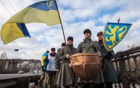 День соборности в Киеве: появились яркие фото