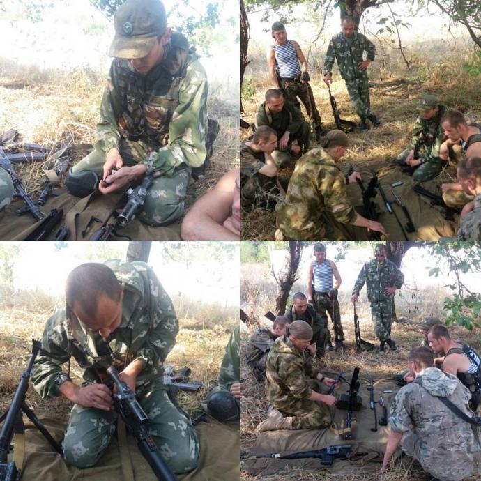 """На Донбасі помітили """"путінських якутів"""": з'явилися фото (2)"""