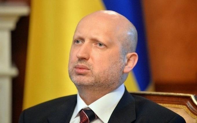 Війна в Україні: Турчинов озвучив два сценарії розвитку подій