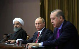 Ердоган і Путін не домовилися про перемир'я в Сирії