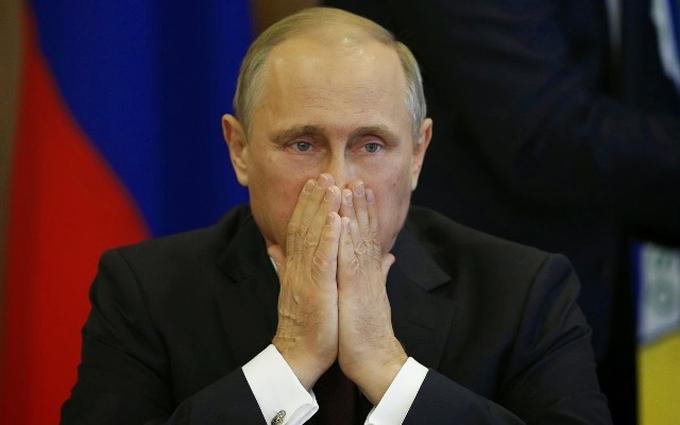 Российский карикатурист изобразил Путина убогой золушкой