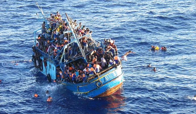Более 67 тысяч беженцев в январе прибыли в Европу по морю