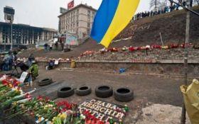 У Києві вандали облили фарбою пам'ятник героям Небесної сотні