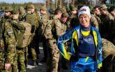 На це варто подивитися: президентка Естонії здійснила марш-кидок з військовими