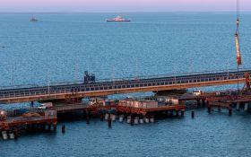 До Кримського мосту відкривають автопідхід: окупанти похвалилися новими досягненнями