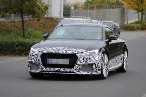 Audi TT-RS Coupe проходить тести у власному кузові (18 фото) (14)