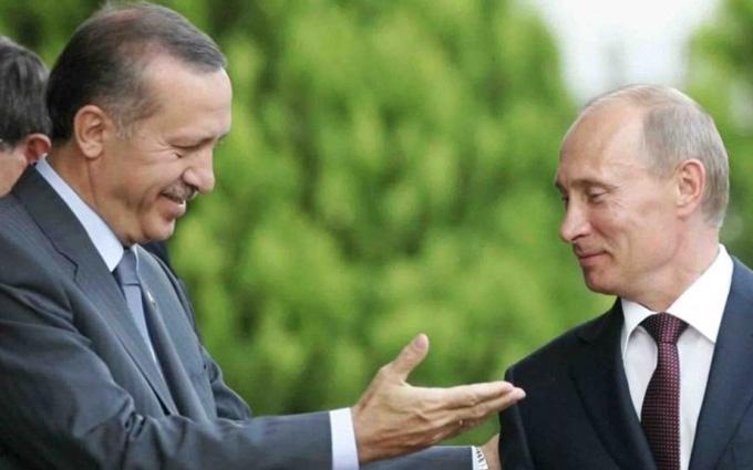Російсько-турецьке потепління: з'явилася версія, що Ердогану потрібен не Путін