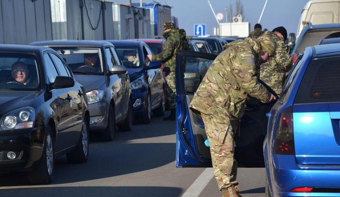 Ситуация в пунктах въезда-выезда на границе с АТО