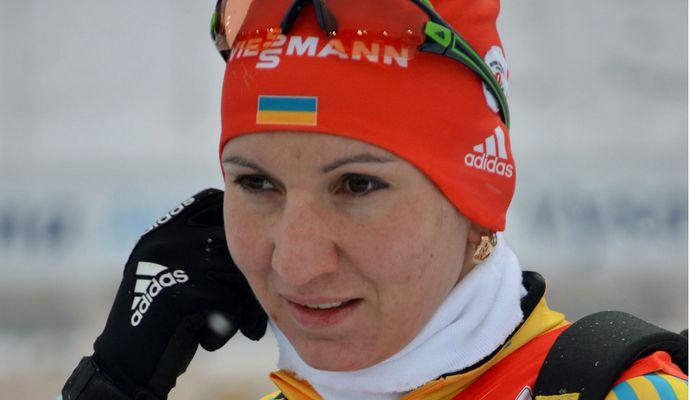 Украинские биатлонистки взяли серебро на Кубке мира в США