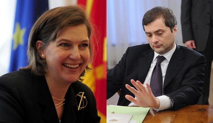 Сурков и Нуланд обсуждали Украину на протяжении 6 часов