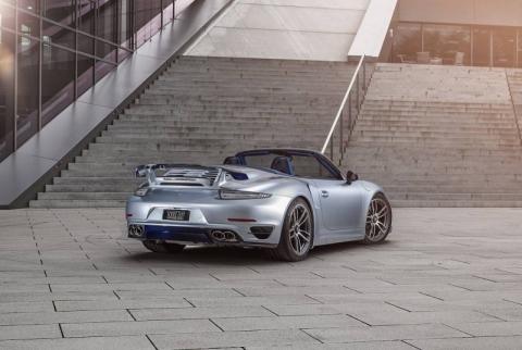 TechArt представила допрацьований кабріолет Porsche 911 Turbo S (10 фото) (3)