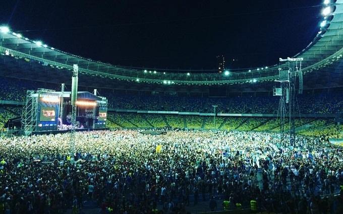 Red Hot Chili Peppers підірвали Київ концертом: з'явилися фото і відео