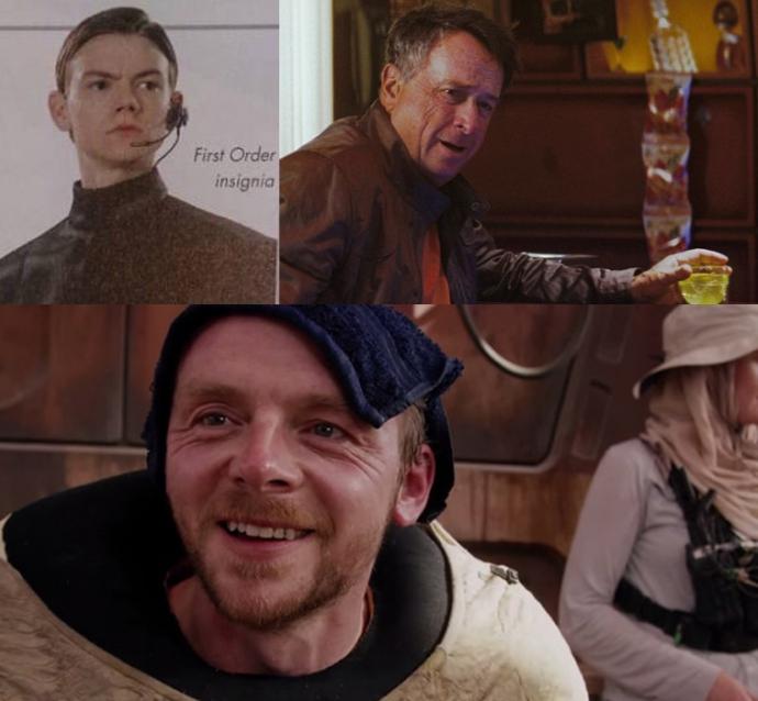 Актори, яких ви не помітили в нових «Зоряних війнах» (10 фото)