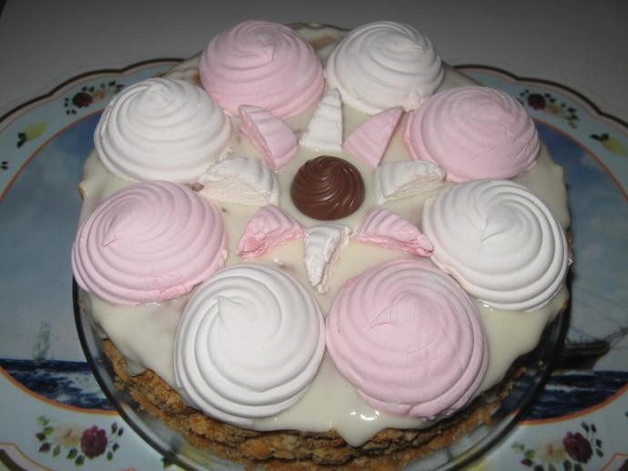 ТОП-6 вкусных тортов из печенья, которые не нужно печь (6)