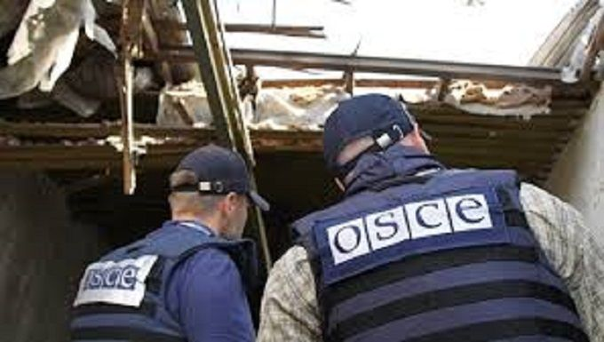 ОБСЄ опублікувала фото військової техніки бойовиків наДонбасі