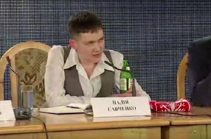 Савченко дала рецепт повернення Криму: потрібно дружити з головою